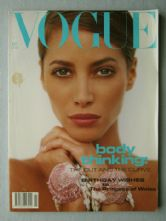 Vogue Magazine - 1991 - July